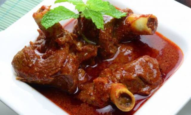 Mutton do pyaza - Best Rajasthani Mutton do pyaza recipe in English